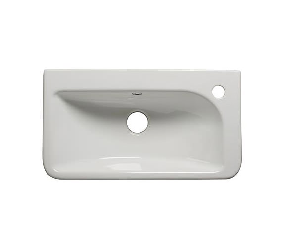 Tavistock Q60 540mm Slim Depth Semi Countertop Basin