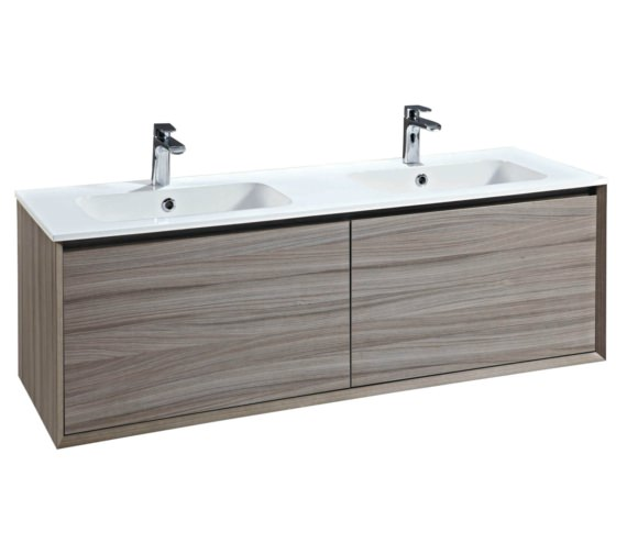 Phoenix Enzo 1410mm Nilo Wall Mounted Vanity Unit With Mineral Cast Basin