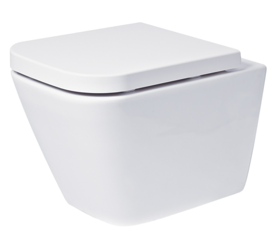 Phoenix Megan 345 x 500mm Wall Hung WC With Soft Close Seat And Cover