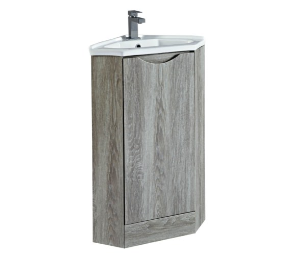 Phoenix Naples 410mm Avola Corner Unit With Basin