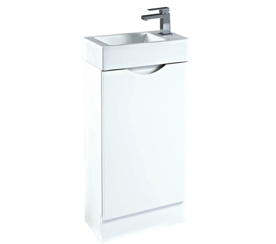 Phoenix Seattle 460mm White Vanity Unit With Basin