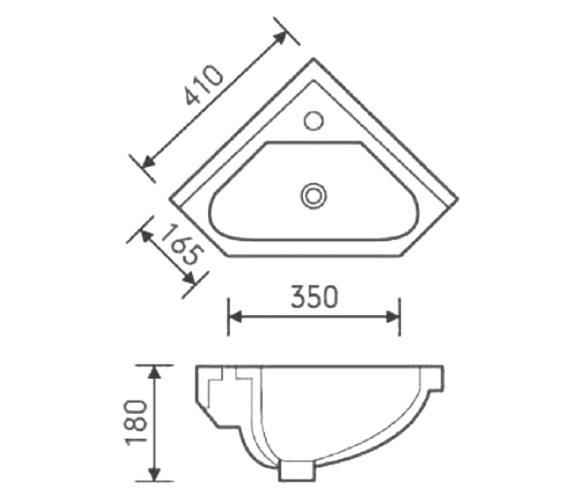Technical drawing QS-V6723 / FU083