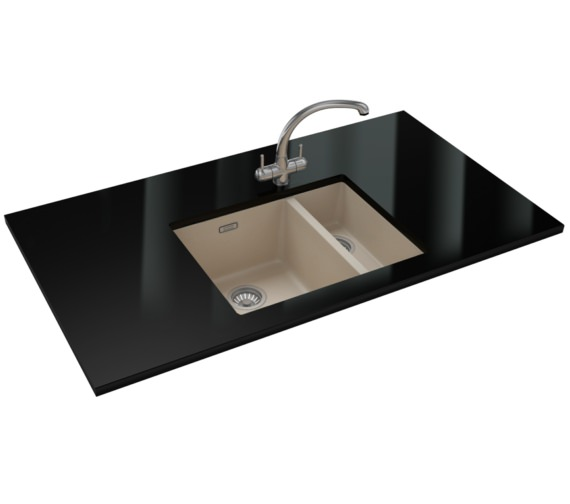 Franke Sirius Propack SID 160 Tectonite Coffee Kitchen Sink And Tap