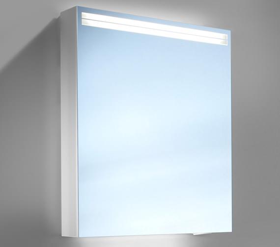 Schneider Arangaline 500mm 1 Door Mirror Cabinet With LED