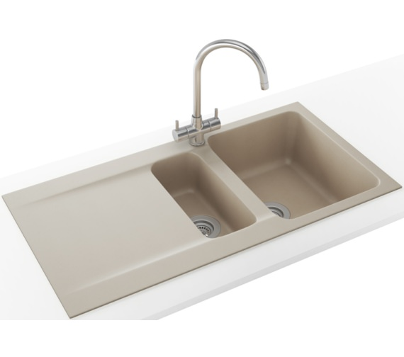 Franke Orion Propack OID 651 Tectonite Coffee Kitchen Sink And Tap