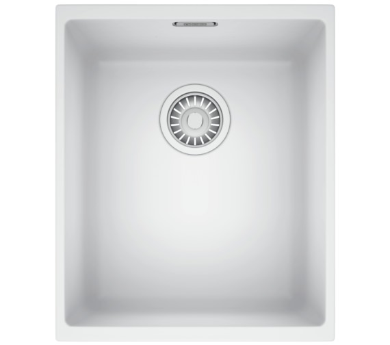 Franke Sirius SID 110 34 Tectonite 1.0 Bowl Polar White Finish Undermount Sink