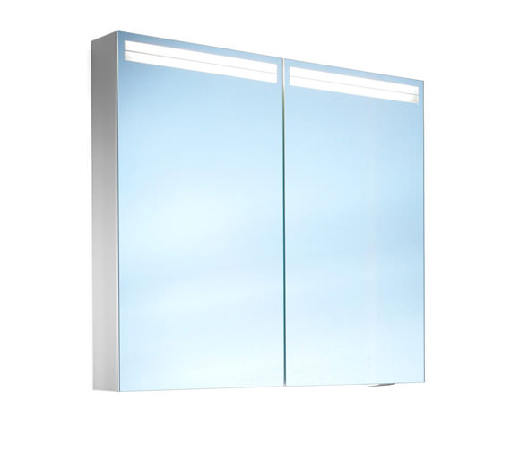 Schneider Arangaline 2 Door Mirror Cabinet 1000mm