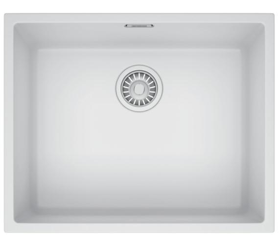 Franke Sirius SID 110 50 Tectonite Polar White 1.0 Bowl Undermount Sink