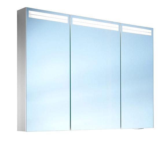 Schneider arangaline 3 door mirror cabinet 1000mm for 1000mm door