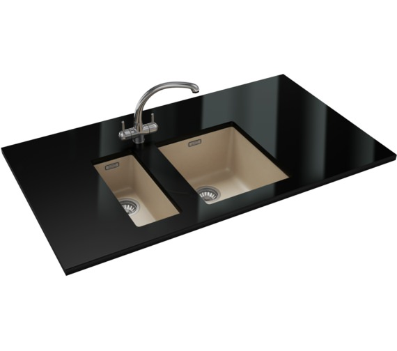 Franke Sirius PP SID 110 16 + SID 110 34 Tectonite Coffee Sink And Tap