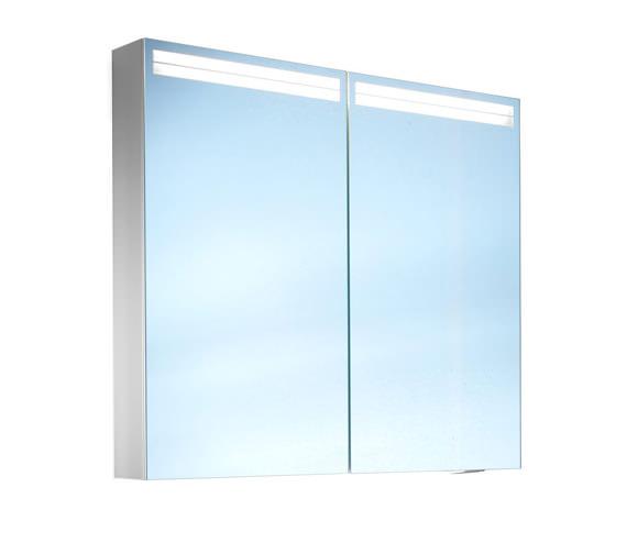 Schneider Arangaline 2 Door Mirror Cabinet 600mm
