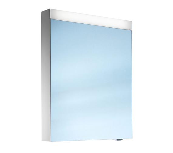 Schneider Pataline 1 Door LED Mirror Cabinet 600mm