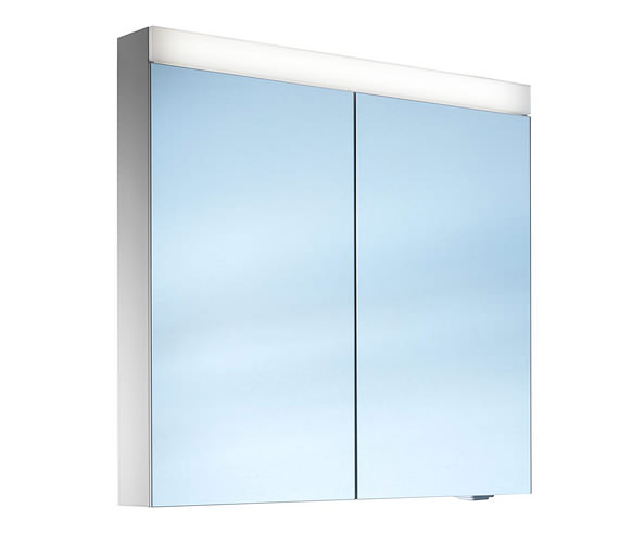 Schneider Pataline 760mm Height 2 Door LED Mirror Cabinet