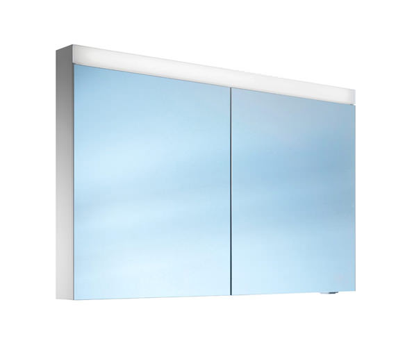 Schneider Pataline 2 Door LED Mirror Cabinet 1200mm