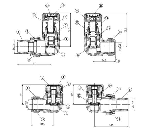 Technical drawing QS-V43809 / SBH7