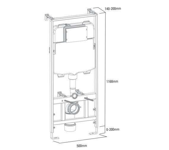 Technical drawing QS-V6747 / TR9006