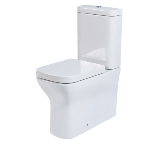 Phoenix Megan 350 x 620mm Comfort Height CC WC Pan With Cistern And Seat