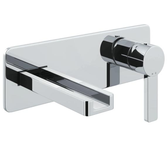 Abode Modo Wall Mounted Basin Mixer Tap