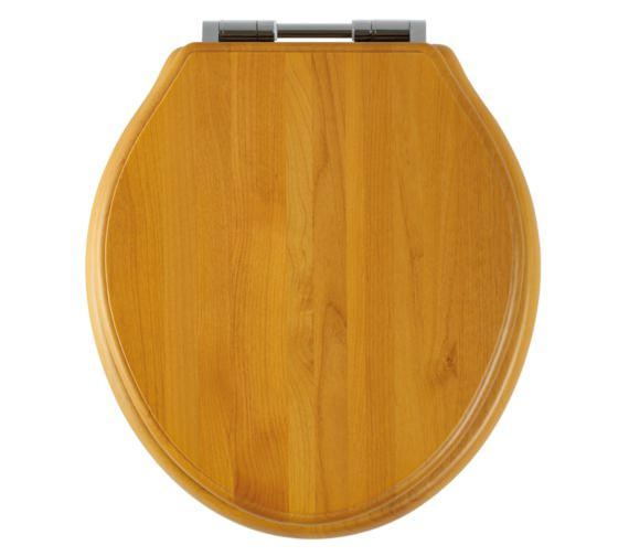 Roper Rhodes Greenwich Antique Pine Solid Wood Toilet Seat