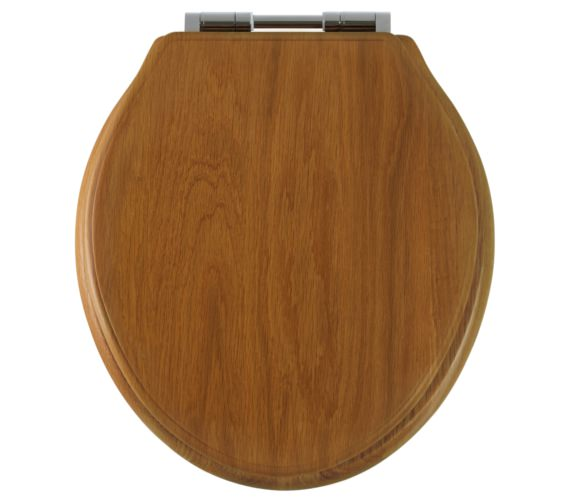 Roper Rhodes Greenwich Honey Oak Solid Wood Toilet Seat