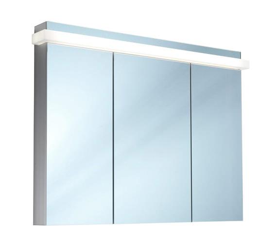 Schneider Taikaline 3 Door 1300mm Mirror Cabinet - Door Width 35/60/35cm