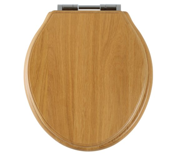 Roper Rhodes Greenwich Natural Oak Solid Wood Toilet Seat - 8099NOSC