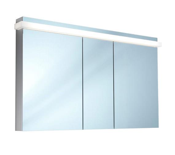 Schneider Taikaline 3 Door 1300mm Mirror Cabinet - Door Width 50/30/50cm