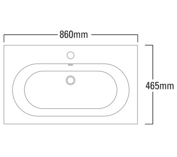 Technical drawing QS-V6767 / T85SB