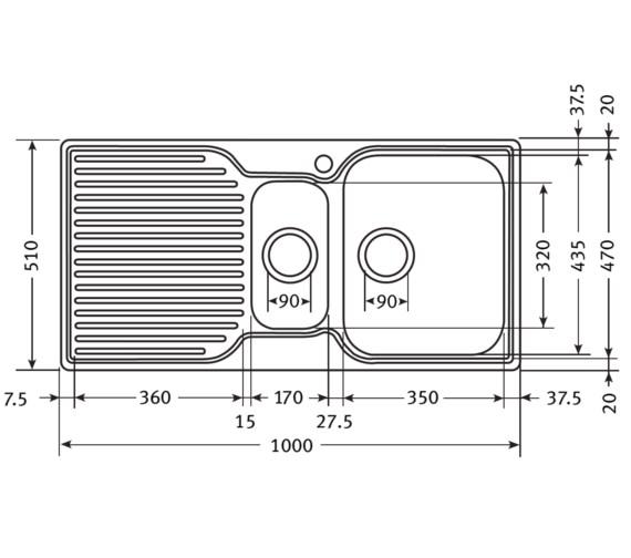 Technical drawing QS-V30027 / 1010277098 BOM