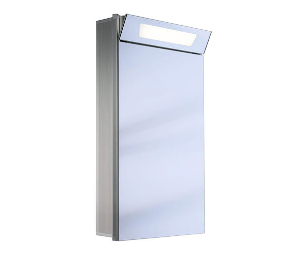 Schneider Capeline 1 Door Illuminated Mirror Cabinet 600mm