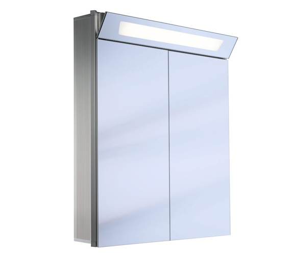 Schneider Capeline 2 Door Illuminated Mirror Cabinet - More Sizes Available