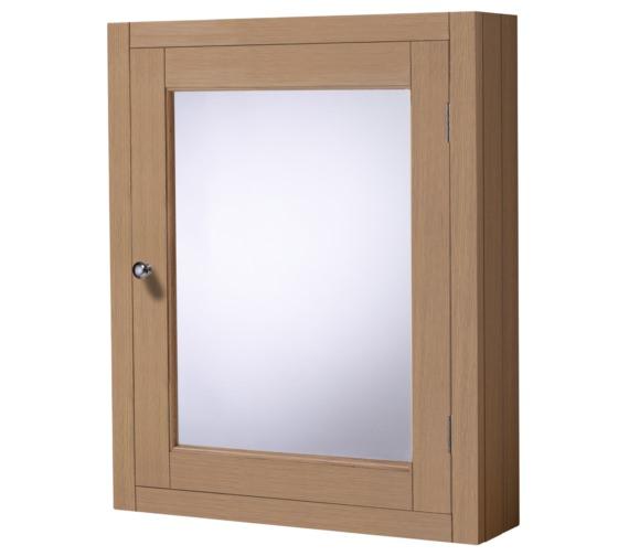 Roper Rhodes Hampton Natural Oak 565mm Mirror Cabinet