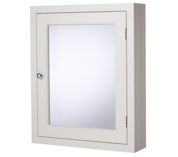 Roper Rhodes Hampton Chalk White 565mm Mirror Cabinet