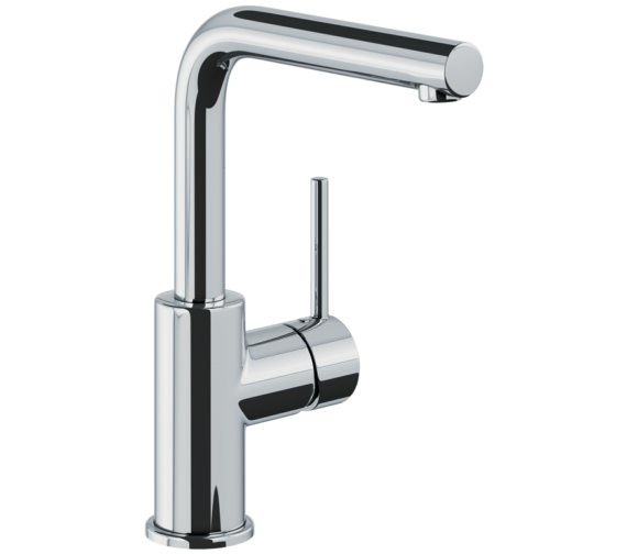 Abode Tanto Basin Mixer Tap With Side Lever