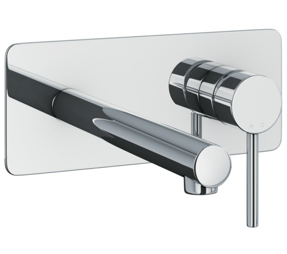 Abode Tanto Wall Mounted Basin Mixer Tap