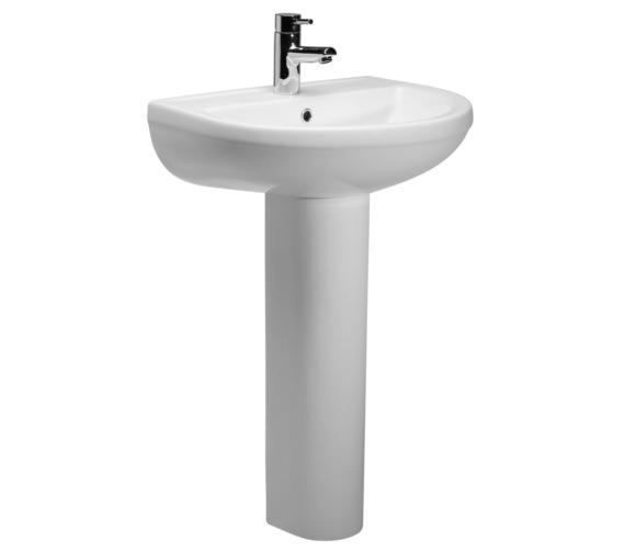Roper Rhodes Minerva 540mm Basin With Full Pedestal