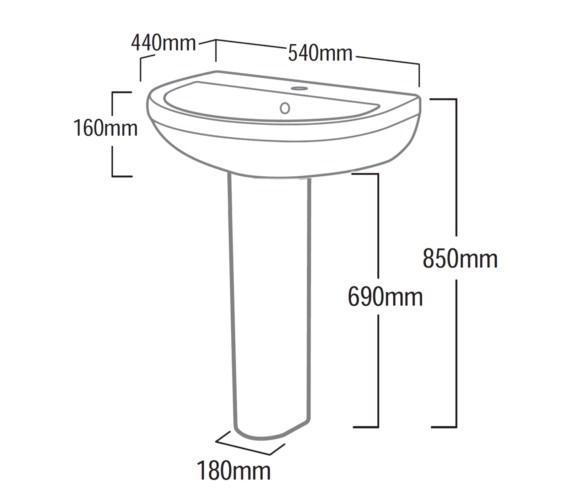 Technical drawing QS-V6786 / DPB54