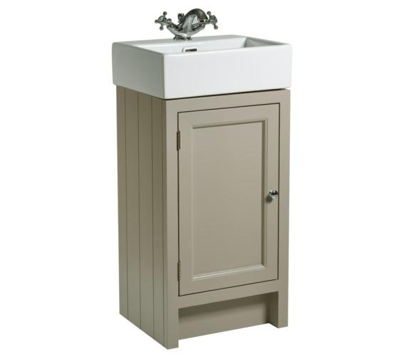 Roper Rhodes Hampton 420mm Mocha Cloakroom Unit With Basin