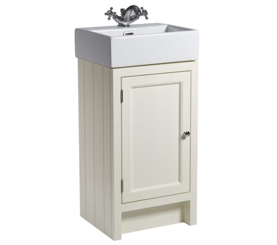 Roper Rhodes Hampton 420mm Vanilla Cloakroom Unit With Basin