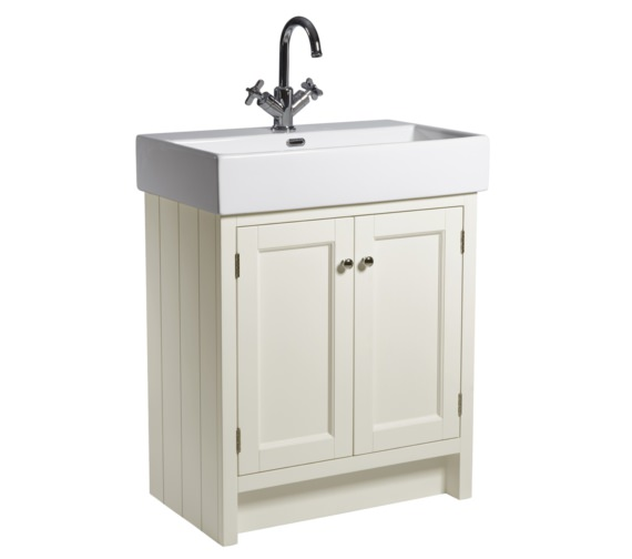 Roper Rhodes Hampton 700mm Vanilla Vanity Unit With Basin