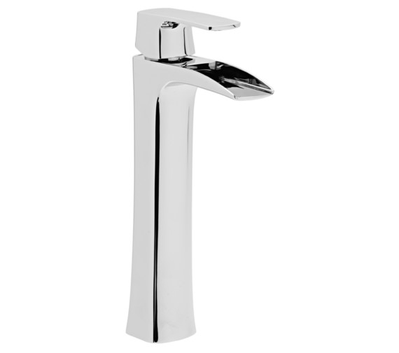 Roper Rhodes Sign Tall Basin Mixer Tap With Click Waste