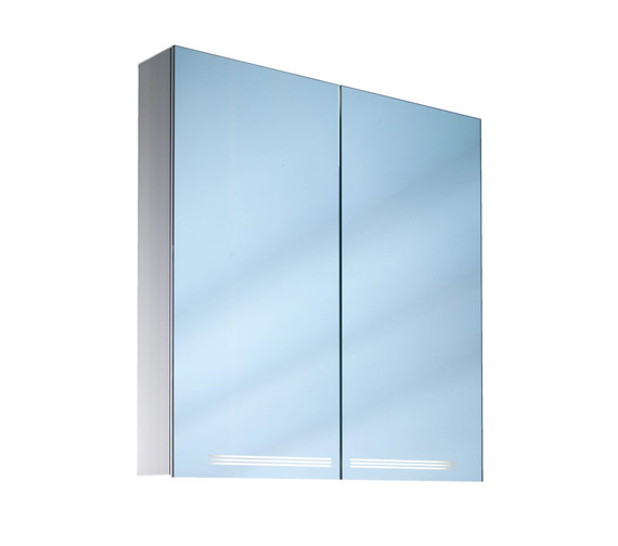 Schneider Graceline 2 Door Illuminated Mirror Cabinet - More Sizes Available