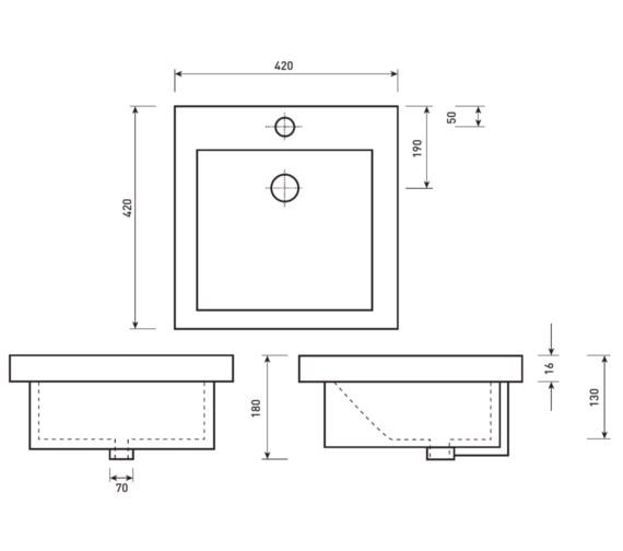 Technical drawing QS-V21241 / VB045