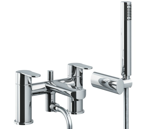 Abode Vedo Deck Mounted Bath Shower Mixer Tap