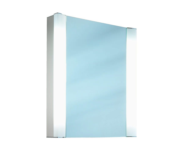 Schneider Splashline 1 Door Mirror Cabinet 600 x 600mm