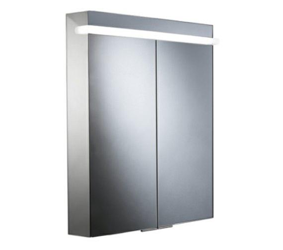 Roper Rhodes Ritual 680mm LED Illuminated Aluminium Mirror Cabinet