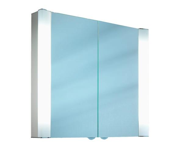 Schneider Splashline 2 Door Mirror Cabinet 1300mm