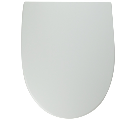Twyford Refresh Standard Toilet Seat And Cover With Plastic Hinges