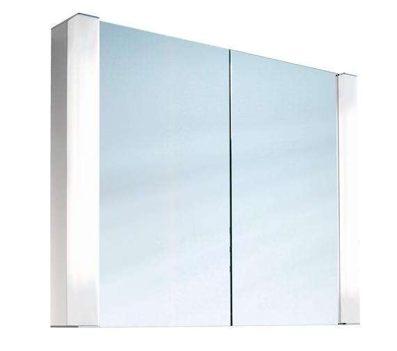 Schneider Pepline 2 Door Mirror Cabinet - More Sizes Available