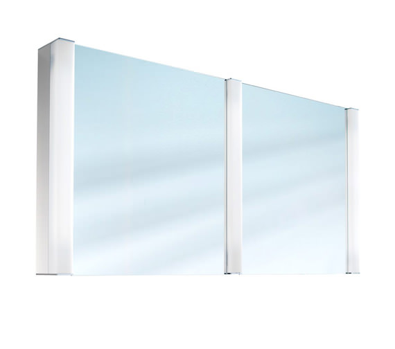 Schneider Pepline 2 Door Mirror Cabinet 1300mm